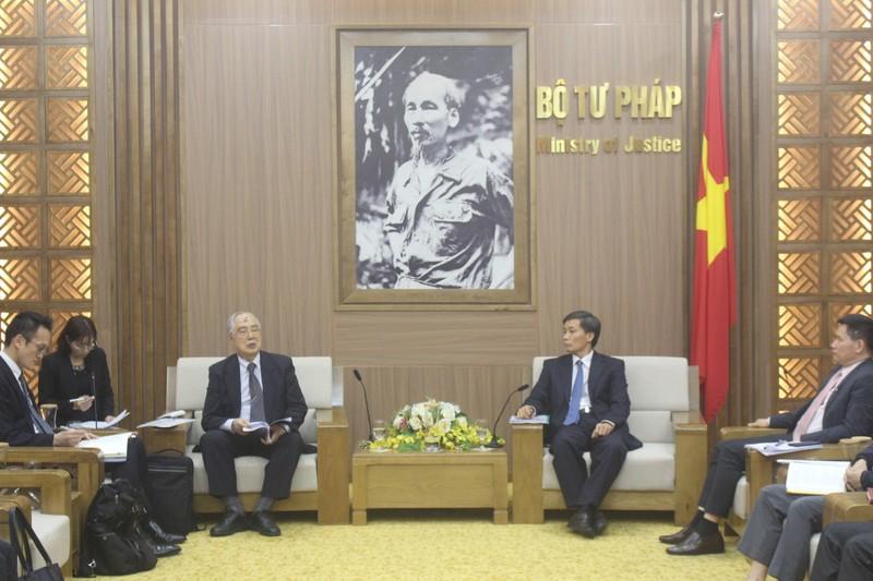 Thứ trưởng Nguyễn Khánh Ngọc tiếp Đoàn công tác JICA Nhật Bản
