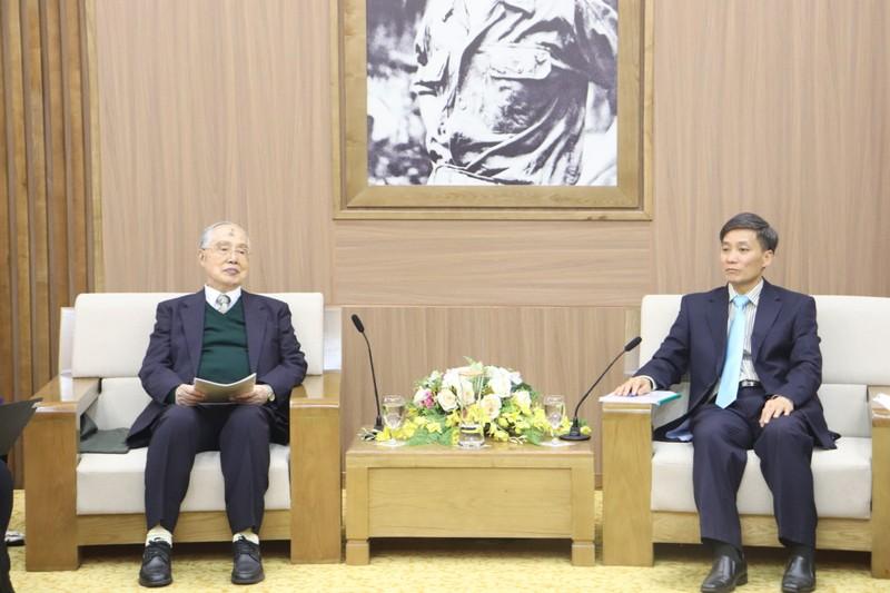 Việt Nam – Nhật bản: Tiếp tục phát triển mối quan hệ hợp tác đối tác giữa cơ quan pháp luật và tư pháp