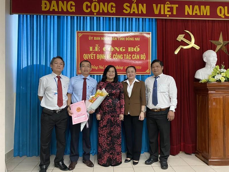 Bổ nhiệm Phó Giám đốc Sở Tư pháp tỉnh Đồng Nai