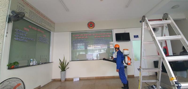 Chi cục Thi hành án dân sự quận Tân Bình tăng cường công tác phòng chống dịch bệnh Covid-19