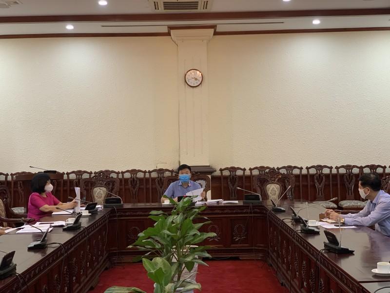 Lãnh đạo Bộ Tư pháp làm việc với Đại học Luật Hà Nội