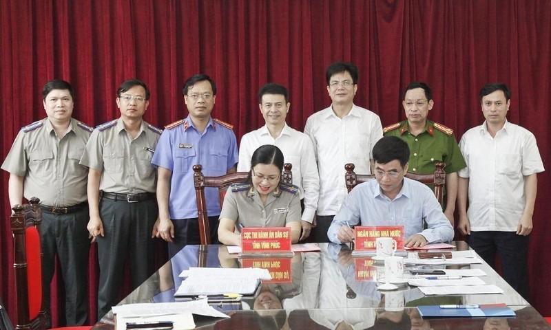 Hiệu quả thực hiện Quy chế phối hợp liên ngành trong công tác thi hành án dân sự trên địa bàn tỉnh Vĩnh Phúc