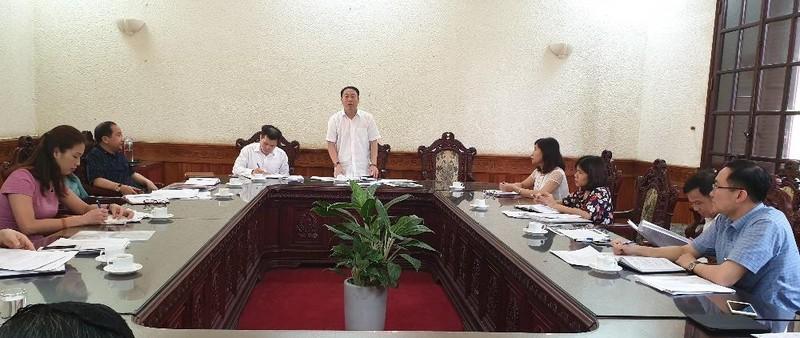 Họp chuẩn bị tổ chức Hội nghị công tác dân vận trong hoạt động hòa giải ở cơ sở