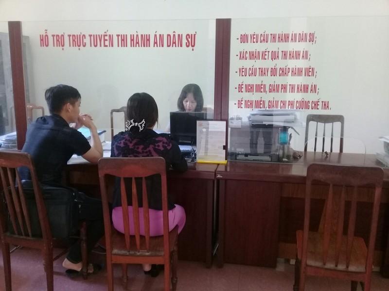 Bình Định tăng cường ứng dụng công nghệ thông tin trong Thi hành án dân sự