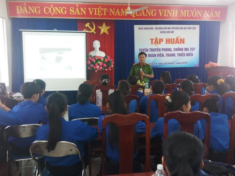 Cam Lâm, Khánh Hòa: Tuyên truyền phòng, chống ma túy cho thanh thiếu niên