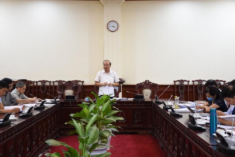 Họp Ban soạn thảo sửa đổi, bổ sung một số điều của Nghị định số 34/2016/NĐ-CP
