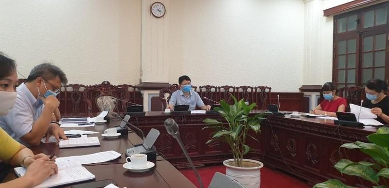 Bộ Tư pháp họp Ban Chỉ đạo phòng, chống dịch COVID-19