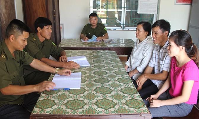 Huyện Tam Đảo, Vĩnh Phúc: Ưu tiên phổ biến pháp luật cho người dân tộc thiểu số