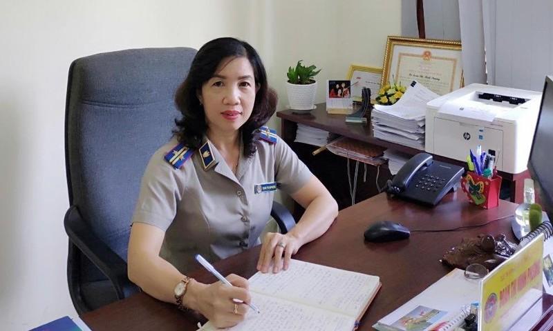 Nữ Trưởng phòng Nghiệp vụ và tổ chức thi hành án tận tâm với nghề