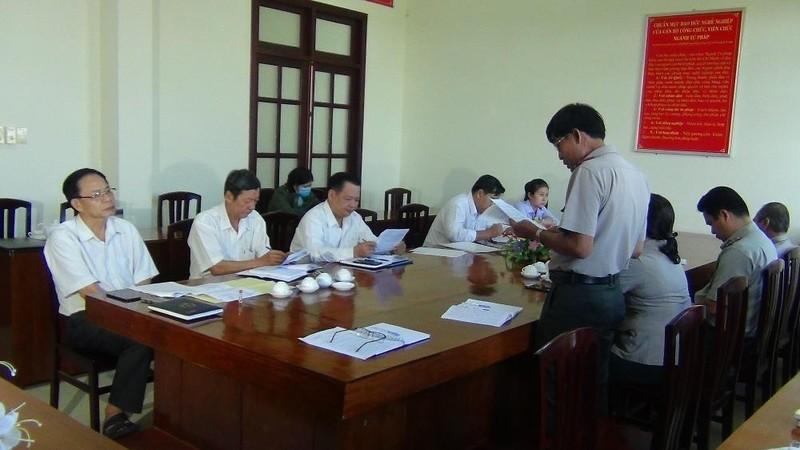 Bến Tre: Hội đồng nhân dân tỉnh giám sát thực hiện nhiệm vụ tại Cục THADS