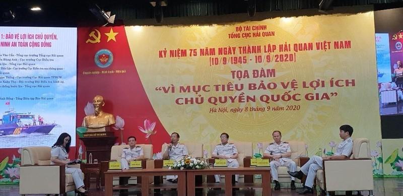 Tọa đàm  Kỷ niệm 75 năm thành lập Hải quan Việt Nam