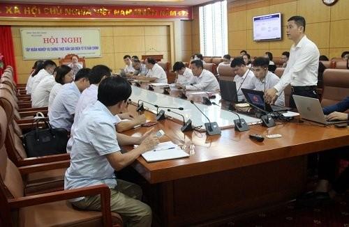 Sở Tư pháp Bắc Giang tập huấn nghiệp vụ chứng thực bản sao điện tử từ bản chính