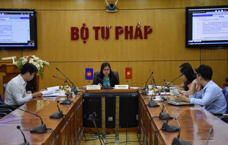 Bộ  Tư pháp dự Phiên họp lần 9 của Nhóm công tác về hài hòa hóa pháp luật thương mại trong ASEAN
