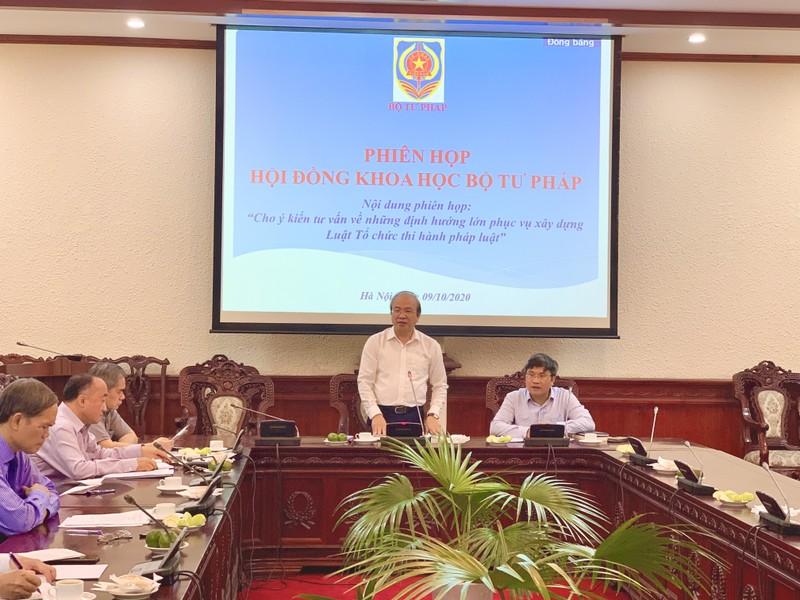 Rõ trách nhiệm của cơ quan nhà nước trong tổ chức thi hành pháp luật