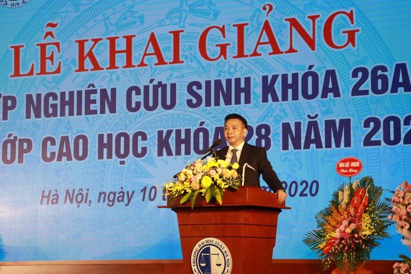 Đại học Luật Hà Nội khai giảng Lớp nghiên cứu sinh và Lớp cao học