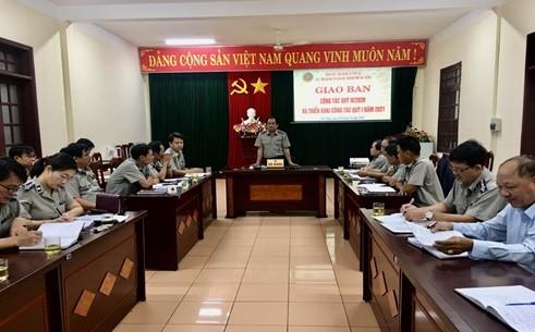 Cục Thi hành án dân sự Đà Nẵng triển khai công tác quý I năm 2021