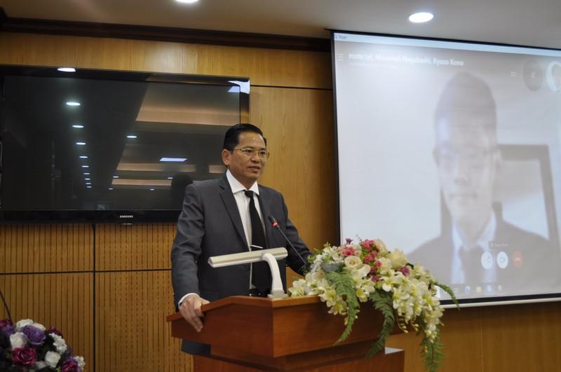 Ông Nguyễn Văn Lực, Phó Tổng cục trưởng, Tổng cục THADS phát biểu khai mạc Hội thảo.