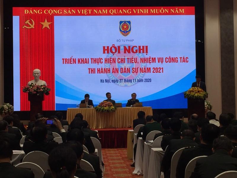 Hội nghị triển khai công tác Thi hành án dân sự năm 2021