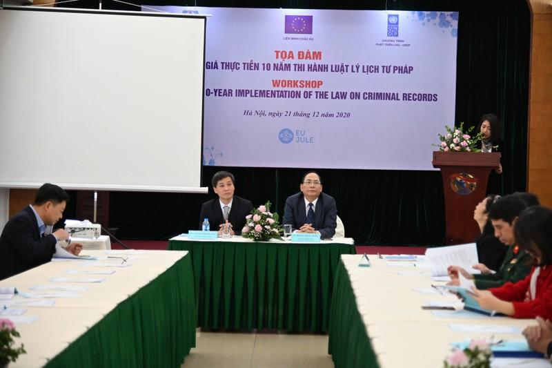 Tăng cường phối hợp nâng cao hiệu quả công tác lý lịch tư pháp