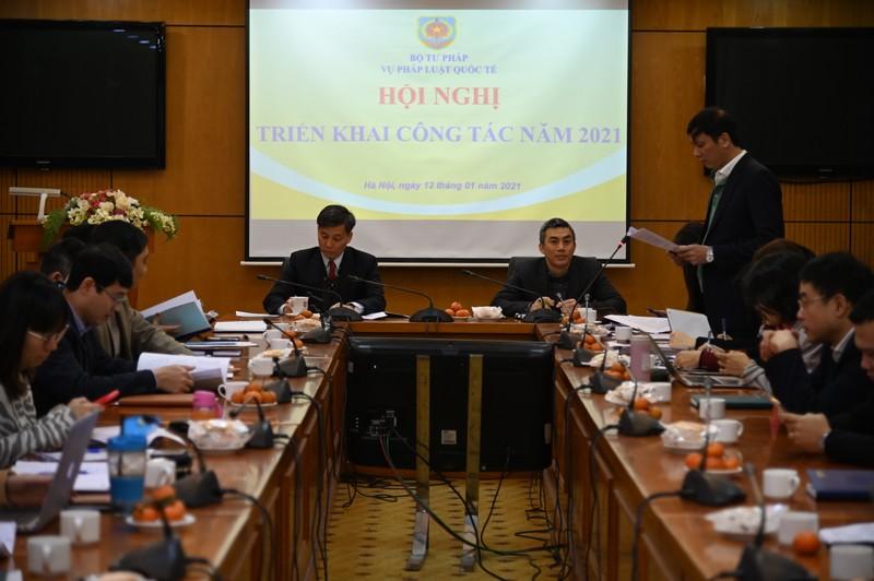 Nâng cao chất lượng và hiệu quả công tác pháp luật quốc tế