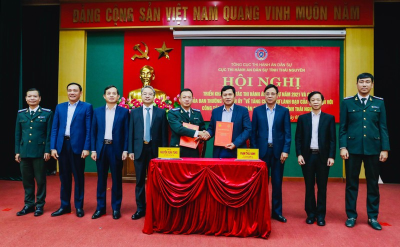 Thái Nguyên: Tăng cường phối hợp với Ủy ban Mặt trận tổ quốc trong công tác THADS