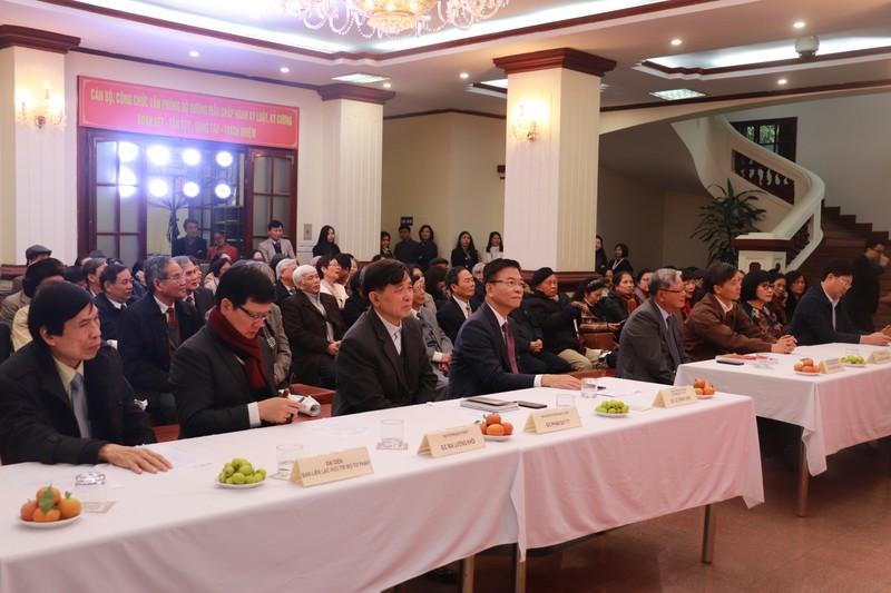 Bộ Tư pháp gặp mặt cán bộ hưu trí nhân dịp Xuân Tân Sửu 2021