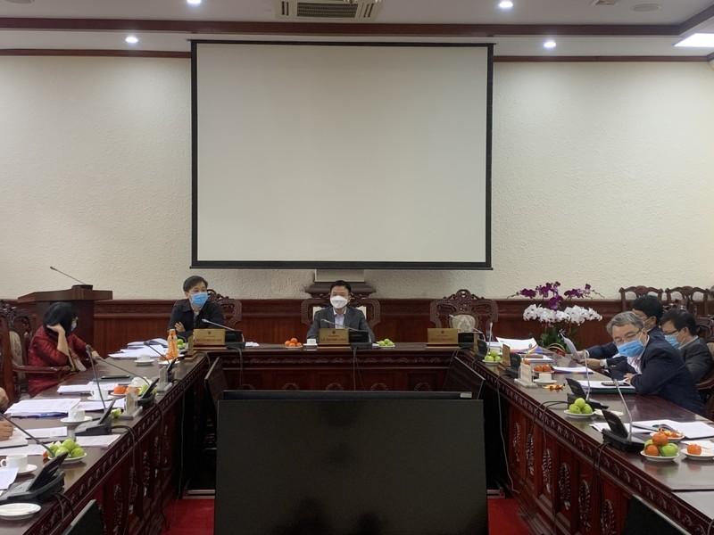 Ban Cán sự đảng Bộ Tư pháp làm việc với các tổ chức đoàn thể, chính trị của Bộ