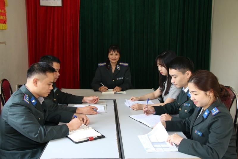 Chi cục Thi hành án dân sự Mai Sơn nỗ lực vượt khó