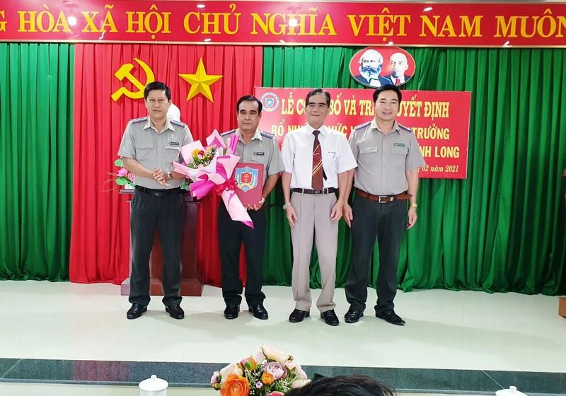 Cục THADS tỉnh Vĩnh Long có tân Phó Cục trưởng
