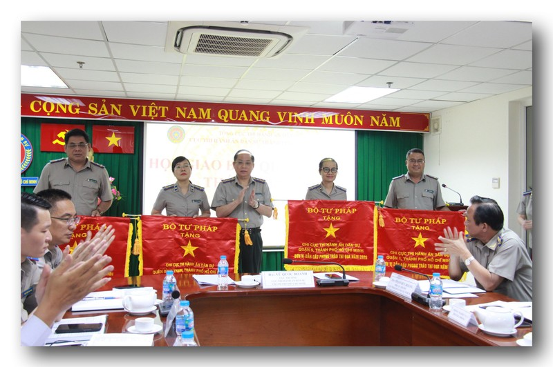 Cục Thi hành án dân sự TP.Hồ Chí Minh: Ký kết giao ước thi đua năm 2021