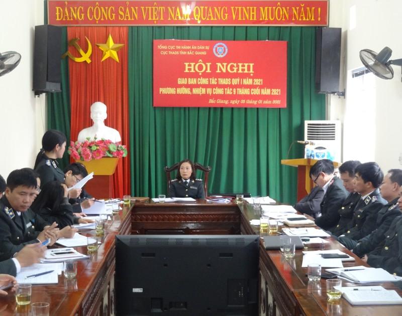 Bắc Giang: Tiếp tục rà soát án có điều kiện thi hành
