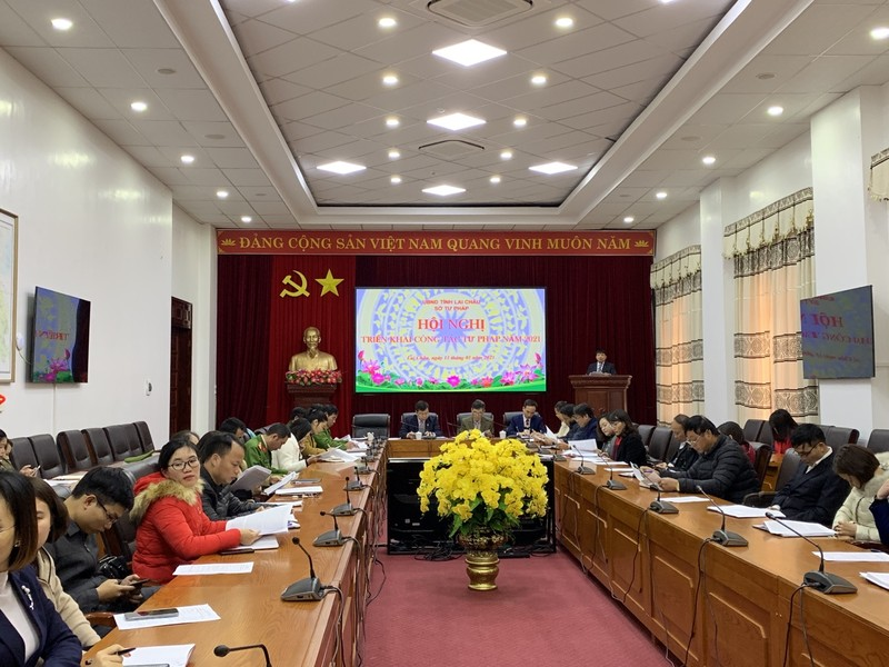 Ngành tư pháp tỉnh Lai Châu: Đổi mới để phát triển