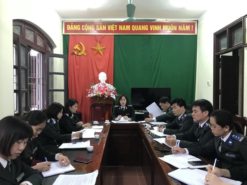 Cục THADS Cao Bằng: Kiểm tra thực hiện chỉ tiêu, nhiệm vụ tại Chi cục huyện Trùng Khánh