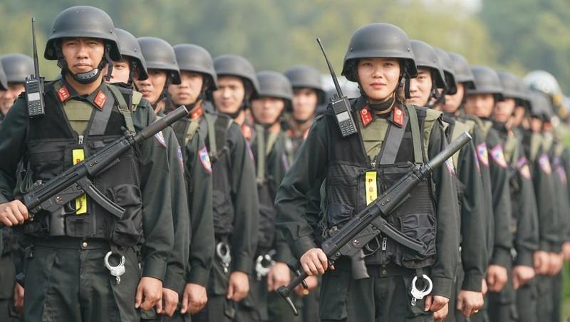 Bổ sung thêm nhiều quyền hạn cho Cảnh sát cơ động