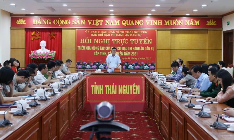 Ban chỉ đạo Thi hành án dân sự Thái Nguyên phát huy vai trò trong giải quyết các vụ án lớn