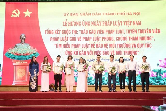 Hà Nội: Tích cực đổi mới các cuộc thi tìm hiểu pháp luật