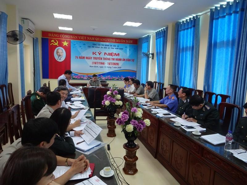 Nam Định: Tập trung đẩy nhanh tiến độ giải quyết thi hành án