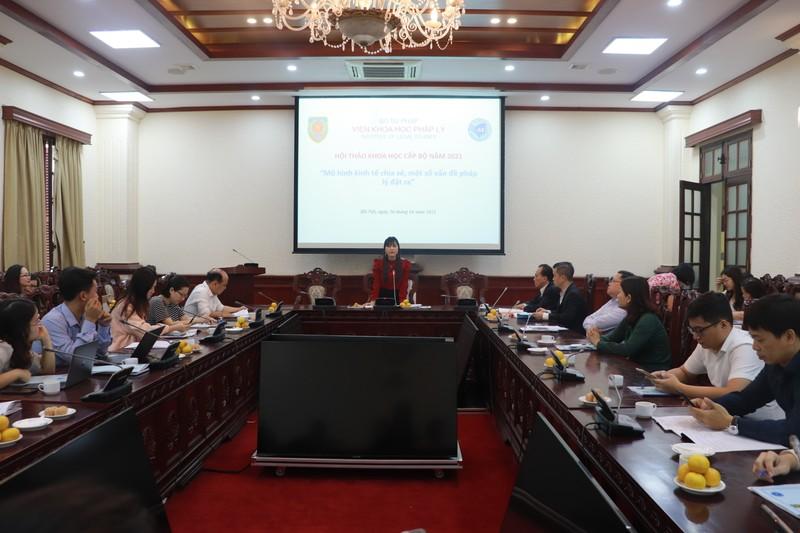 Hoàn thiện pháp luật điều chỉnh mô hình kinh tế chia sẻ ở Việt Nam