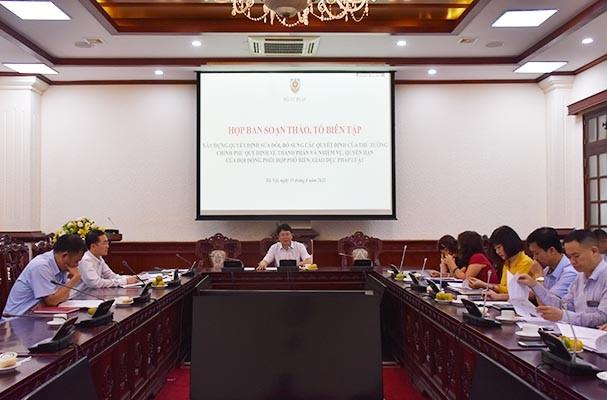 Nâng cao vai trò của Hội đồng phối hợp phổ biến, giáo dục pháp luật để phù hợp với bối cảnh mới