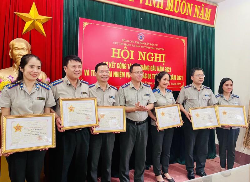 Thái Nguyên: Tập trung thi hành các vụ việc trọng điểm