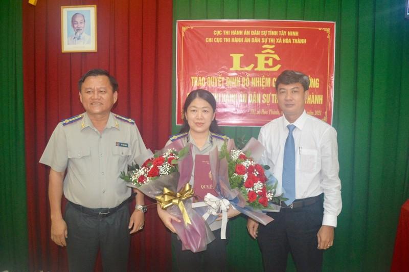 Tây Ninh: Bổ nhiệm Chi cục trưởng Chi cục THADS thị xã Hòa Thành