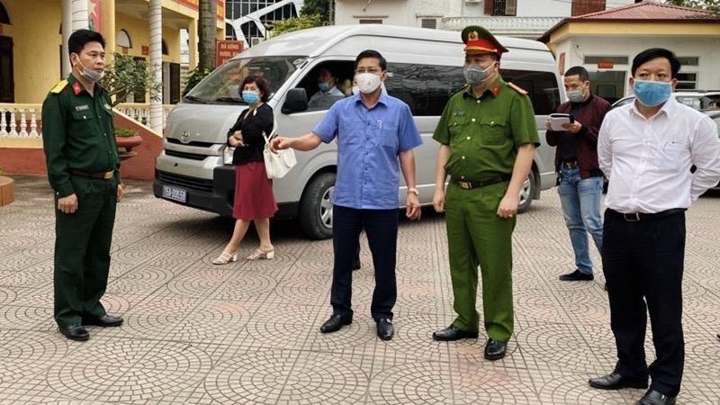 Phê bình Ban Chỉ huy Quân sự huyện Tiên Lãng không chấp hành quy định phòng chống dịch