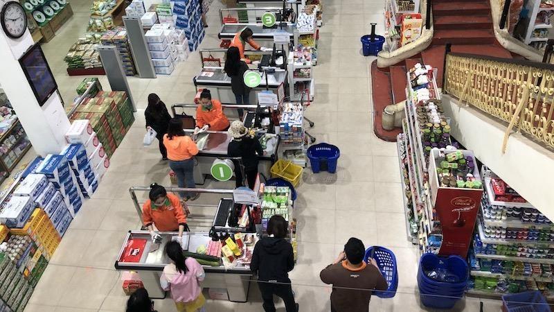 """Các """"ông lớn"""" siêu thị ở Hải Phòng hỗ trợ người dân mua hàng  trực tuyến"""