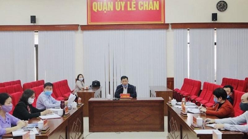 Quận Lê Chân (Hải Phòng) giải toả toàn bộ các tụ điểm họp chợ tự phát