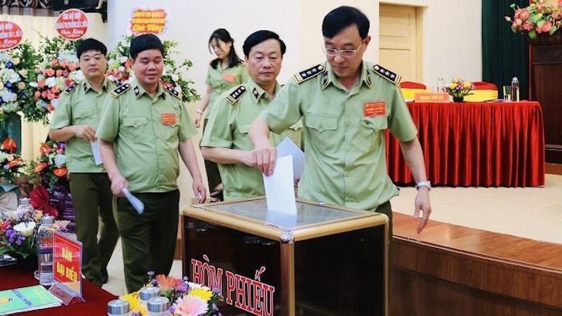Cục Quản lý thị trường Hải Phòng tổ chức Đại hội Đảng bộ lần thứ nhất