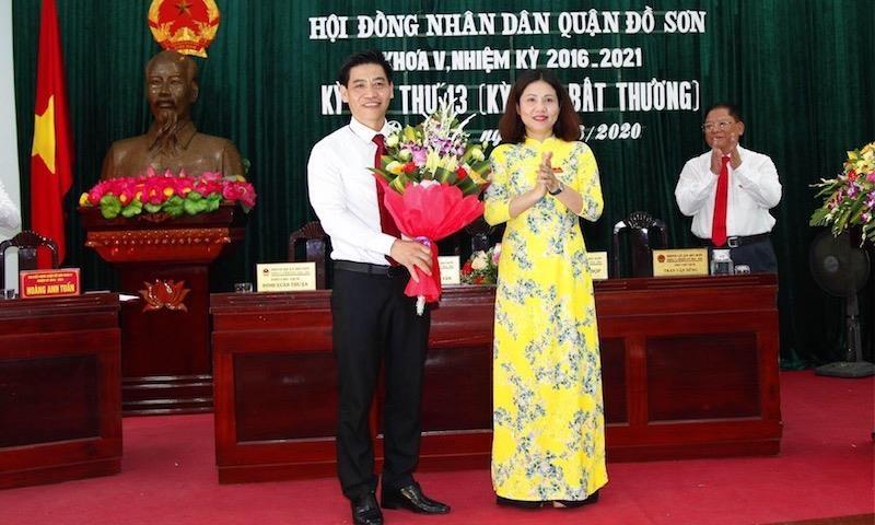 Hải Phòng: Bí thư phường Ngọc Xuyên được bầu là Phó chủ tịch UBND quận Đồ Sơn