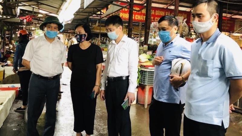 Quận Lê Chân (Hải Phòng) thành lập 12 chốt kiểm soát dịch bệnh tại các chợ
