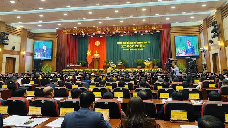 Hải Phòng: Khai mạc Kỳ họp thứ 16 HĐND thành phố khoá XV
