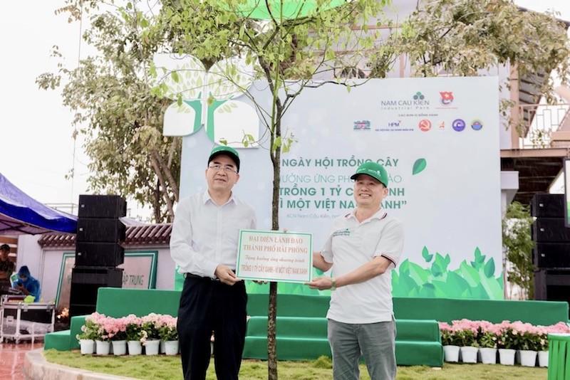 Hải Phòng: Khởi động chương trình trồng một triệu cây xanh