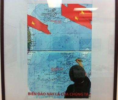 """Triển lãm mỹ thuật chuyên đề """" Chủ quyền biển đảo của Việt Nam"""""""